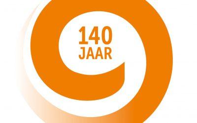 Wij vieren feest!!! Wij bestaan 140 jaar!!!