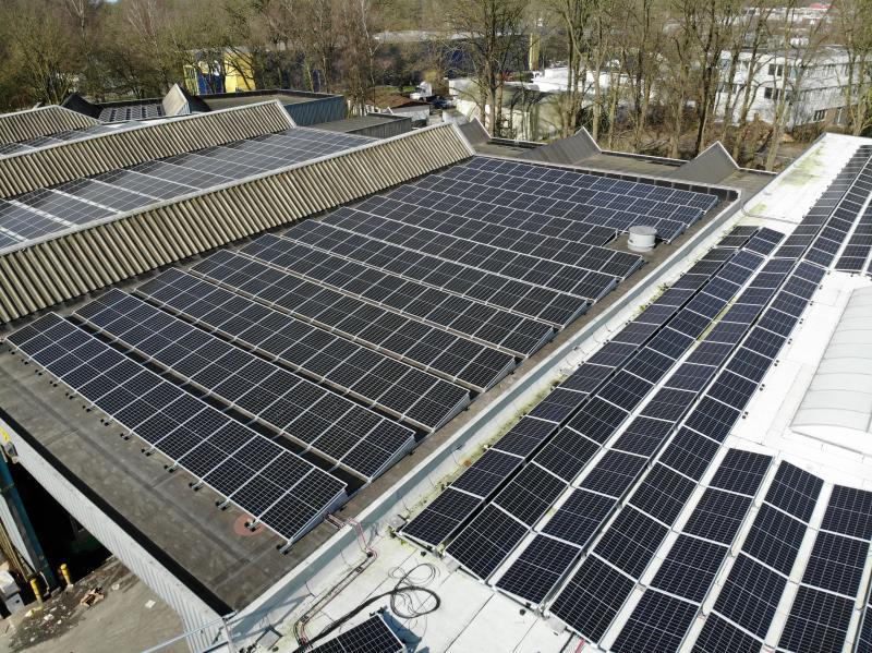 Zonnepanelen: 2,5 Megawatt opbrengst