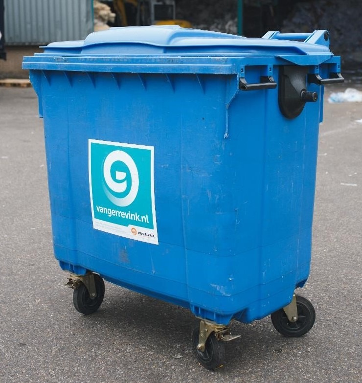 Container 770 liter rolcontainer
