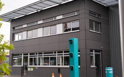 Nieuw weegbrug kantoor en weegbrug voor Van Gerrevink
